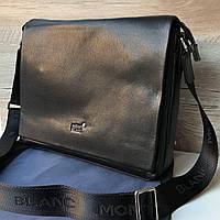 Мужская кожаная сумка портфель Mont Blanc, фото 1