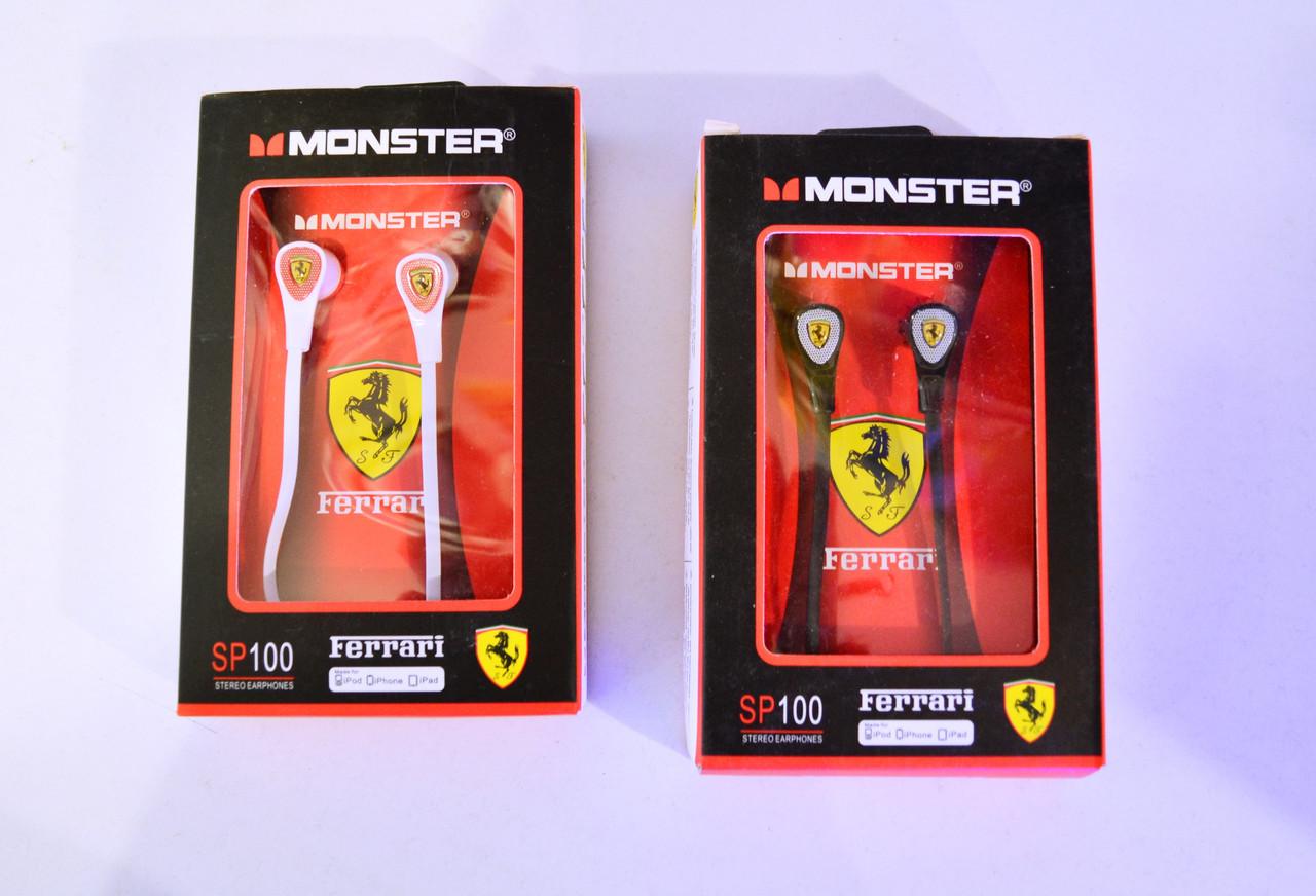 MONSTER Ferrari SP100