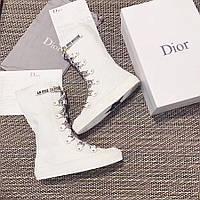 Женские  сапожки спортивного стиля Dior