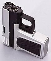 Электроимпульсная USB зажигалка в виде пистолета №4367