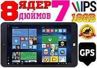 Мощный планшет ASUS SurfTab, 8 ядер INTEL, WINDOWS 10',16 Gb, GPS + гарантия