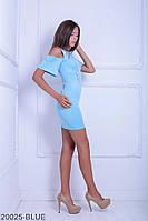 Жіноче плаття  Selina 20025-BLUE S Голубий
