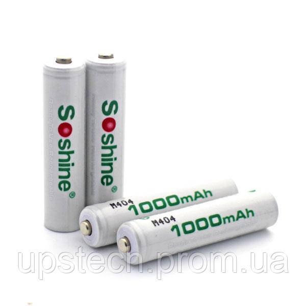 Аккумулятор Soshine 1000 mAh Ni-MH  size AAA