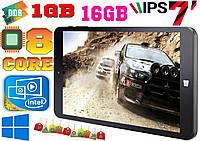 Игровой планшет Lenovo win, 8 ядер INTEL,16 Gb, GPS + гарантия