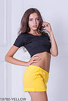 Жіночі шорти  Dillon 19780-YELLOW S Жовтий