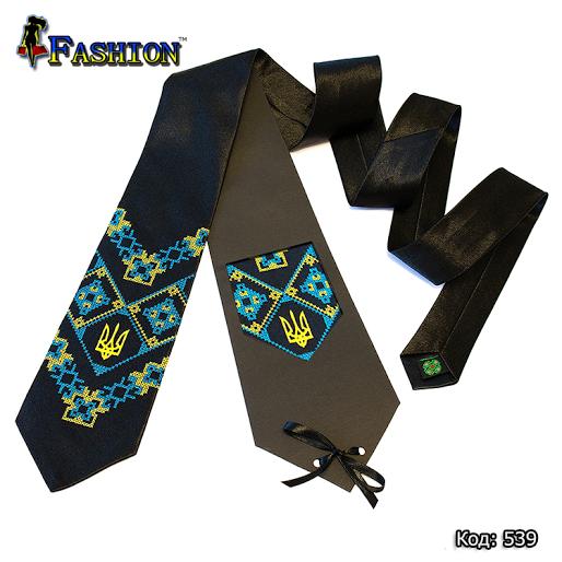 Актуальна краватка з вишивкою Осайдачний