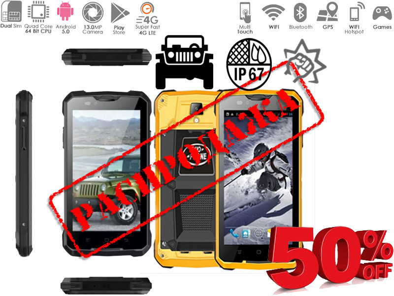 Водонепроницаемый смартфон JEEP V12 (GUOPHONE V12)discovery landrover v12 купить в украине