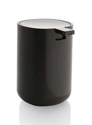 Дозатор для жидкого мыла Бирилло серый , фото 2