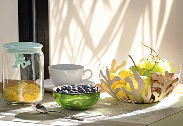 Ваза для фруктов Mediterraneo Sweet Breakfast бежевая 29 см, фото 2