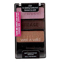 Палитра теней Wet n Wild Color Icon Collection Eyeshadow Trio 334 I'm Getting Sunburned