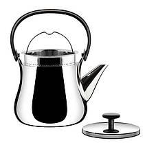 Чайник Cha из нержавеющей стали, фото 3