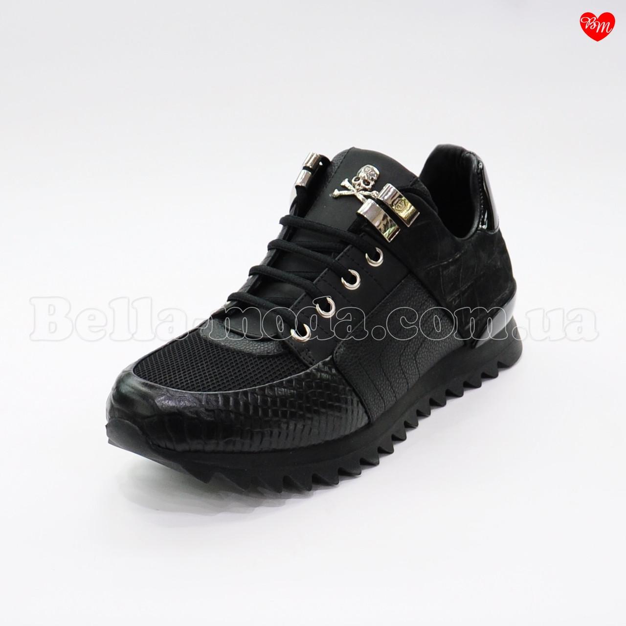 5bc12744ff7c3 Мужские кроссовки с черепом Philipp Plein - интернет-магазин