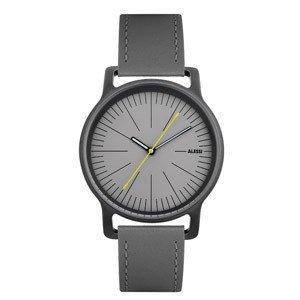 Часы l'orologio мужские на кожаном сером ремне, фото 2