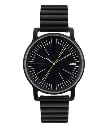 Часы l'orologio мужские со стальным браслетом черный, фото 2