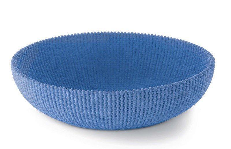 Сервировочная ваза La Trama e l' Ordito синяя