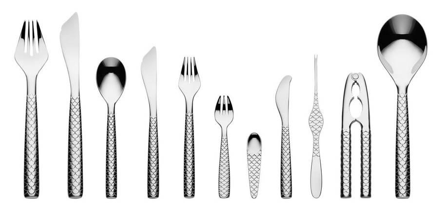 """Нож для масла """"Коломбина"""" Fish , фото 2"""