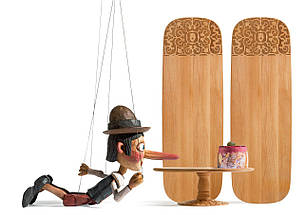 Доска для сервировки деревянная Dressed , фото 3
