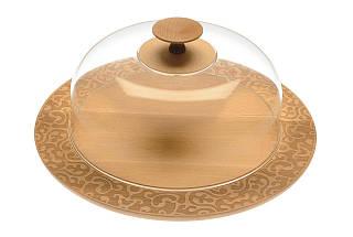 Крышка круглая на доску для торта и сыра Dressed, фото 3