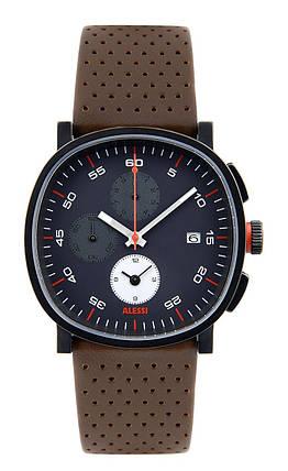 Часы мужские Tic15 кожаный ремешок коричневый циферблат, фото 2