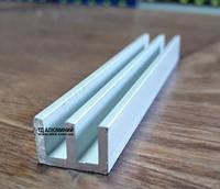 Алюминиевый Ш профиль 15х10х2 / AS