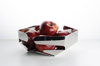 Корзина для фруктов Челата сталь , фото 2