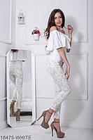 Жіноча блузка  Milena 18475-WHITE XXL Білий