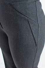"""Женские брюки """"Жанетта"""" серого цвета., фото 3"""