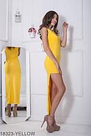 Жіноче плаття  Vanessa 18323-YELLOW S Жовтий