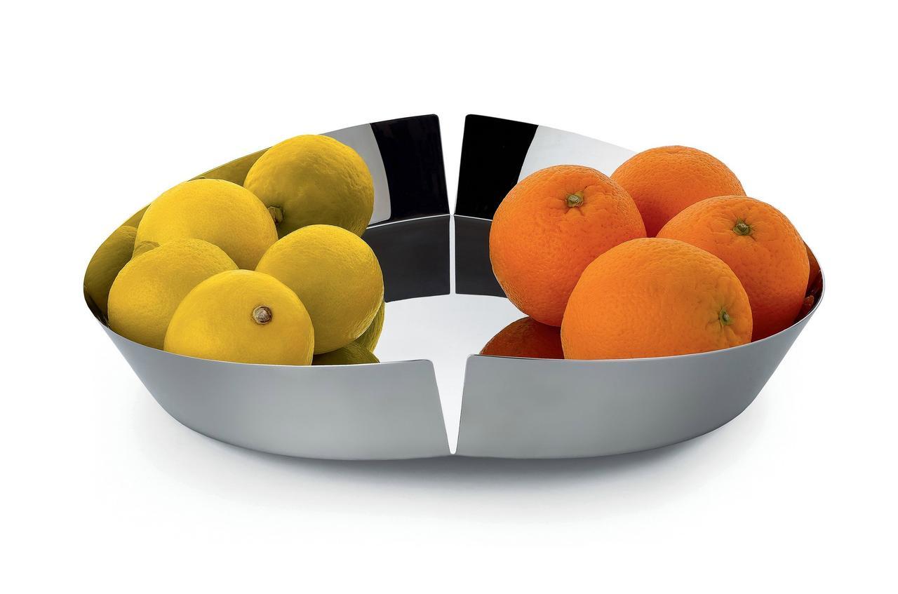 Ваза для фруктов Broken Bowl нержавеющая