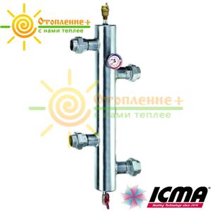 """Icma Резьбовой гидравлический сепаратор для системы отопления 1"""""""