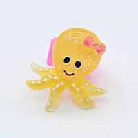"""Кольцо для принцессы  """"Веселый осьминог"""""""