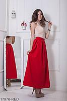 Жіноча спідниця  Kerry 17976-RED XXL Червоний