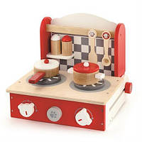 """Игровой набор Viga Toys """"Мини кухня"""", детская кухня для девочек"""