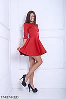 Жіноче плаття Fantasy Неопрен  17437-RED S Червоний