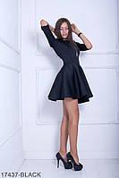Жіноче плаття Fantasy Неопрен  17437-BLACK XL Чорний