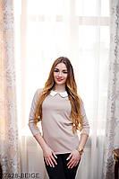 Жіноча кофта  Amber 17428-BEIGE XXL Бежевий