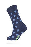 Мужские носки DIWARI серия HAPPY, 049, р.25 (40-41) темно-синий-голубой,  72% хлопок