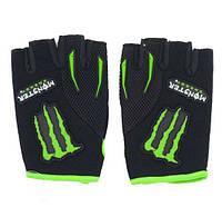 Вело-мото перчатки MONSTER Energy MS-4638-BG