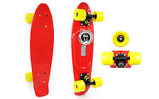 Скейтборд Penny Board COLOR POINT FISH SK-403-12