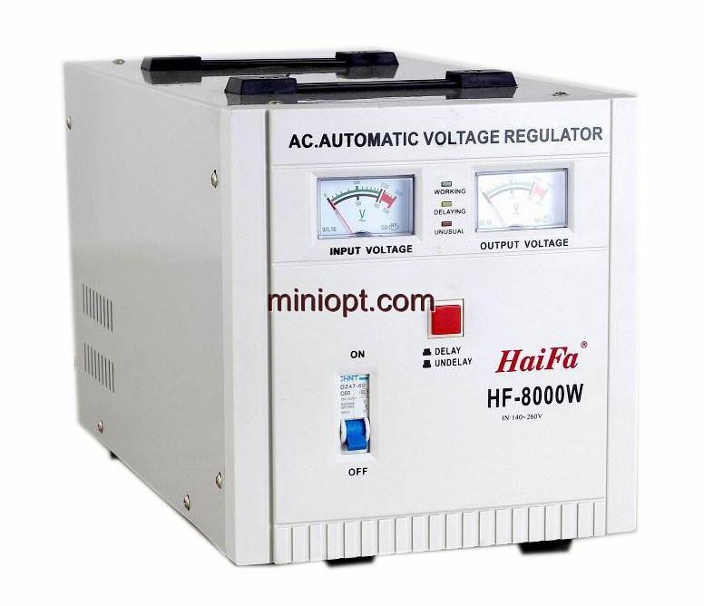 Стабилизатор напряжения релейный HF-8000W