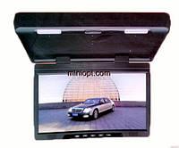 """Автомобильный монитор потолочный 13"""". USB, SD"""