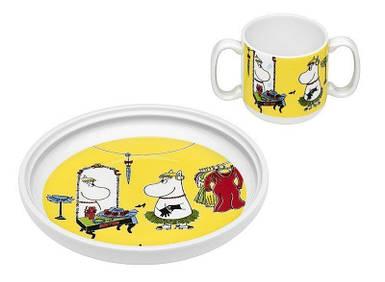 Блюдце и чашка детская Муми в комплекте Role Play
