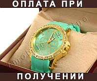 Женские часы Jeneva -- БИРЮЗОВЫЙ _(л74)