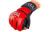 Перчатки для смешанных единоборств MMA кожаные VELO ULI-4033-R(L)