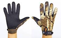 Перчатки тактические с закрытыми пальцами 5.11 BC-4467-Н