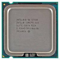 Процессор Intel Core2 Duo E7500 2.93GHz/3M/1066 s775, tray