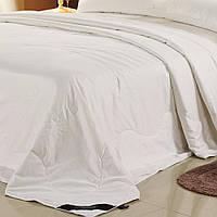 Натуральное шелковое  одеяло 180х215 см в хлопковом чехле