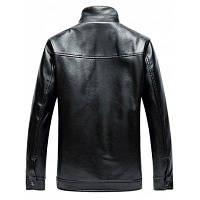 Куртка на молнии с воротником стойкой 4XL