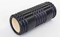Роллер массажный (Grid Roller) для йоги, пилатеса, фитн. FI-6277-2