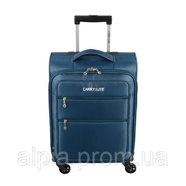 Чемодан Carry:Lite Diamond Blue (S)